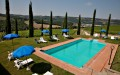 Fattoria Pratale_Chianti_swimming pool looking at the wineyards